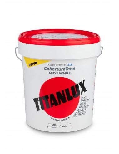 OFERTA TITANLUX COBERTURA MAT BLANC 4L