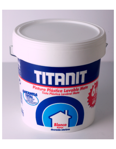 OFERTA TITANIT MATE BLANCO 15 LITROS