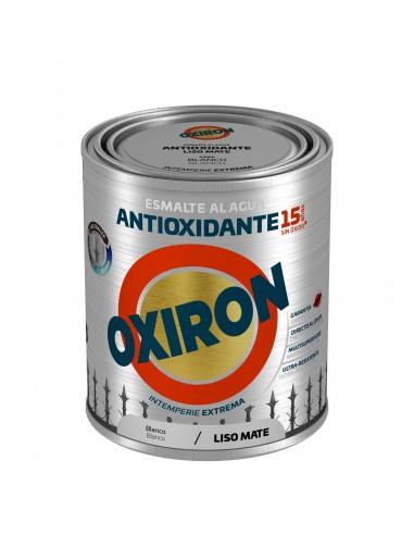 OFERTA OXIRON LISO MATE BLANCO AGUA...
