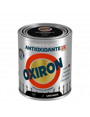 OFERTA OXIRON LISO NEGRO MATE AGUA 750ML